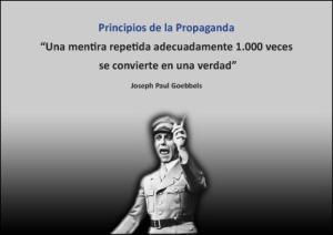 """Goebbels fue ministro de propaganda de la Alemania nacionalsocialista, padecía un """"trastorno narcisista de personalidad"""" que le hacía buscar adictivamente el reconocimiento y el elogio. Poseía una personalidad basada en el cinismo, impulsiva y dominante, abiertamente manipuladora e incisiva, gustaba del protagonismo y era poseedor de un carácter muy temperamental.  Debido a su mesiánica retórica fue llamado el evangelista del nazismo."""
