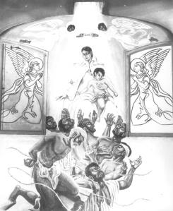 Capilla Gitana fresco frontal